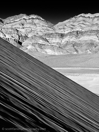 Eureka Dunes and Last Chance Mountains - Death Valley, CA